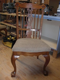 wooden chair restoration in Colorado Springs