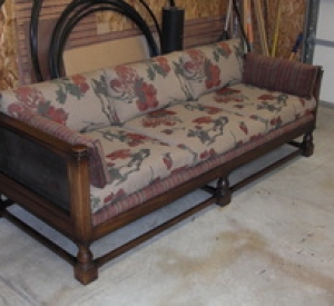 Furniture After Reupholstery & Repair